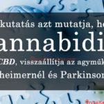 A CBD visszafordíthatja az agyi deficitet a Parkinson-kór és az Alzheimer-kór esetében