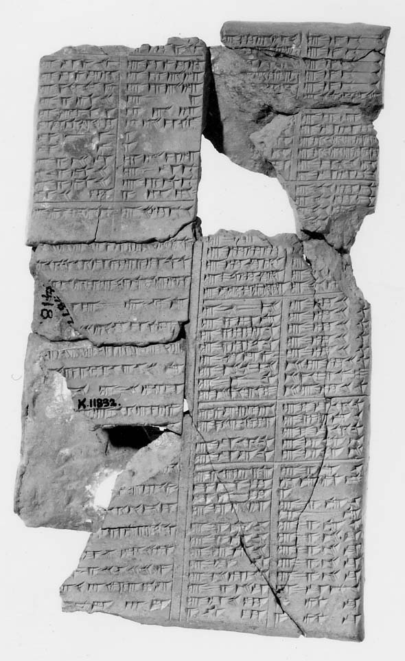 Assyrian medical tablet