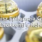 A kannabisz epilepszia gyógyszer felére csökkenti a rohamokat