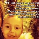 Egy anya kiáll a gyerekgyógyászati kannabisz kezelés és a családok mellett
