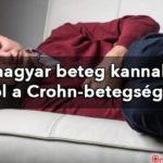 Egy magyar beteg kannabisszal harcol a Crohn-betegség ellen