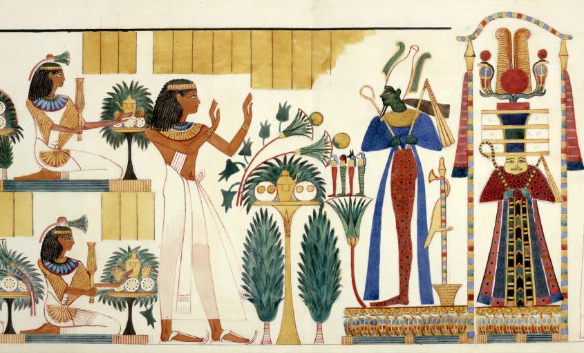 férgek Egyiptomban hatalmi paraziták